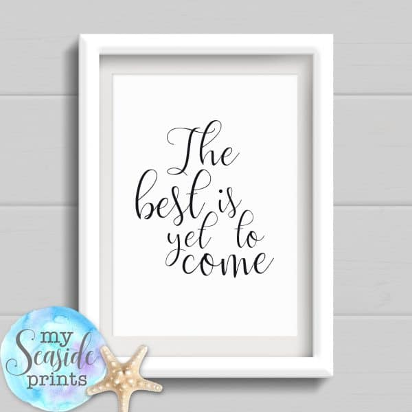 Personalised Graduation Print - The best is yet to come