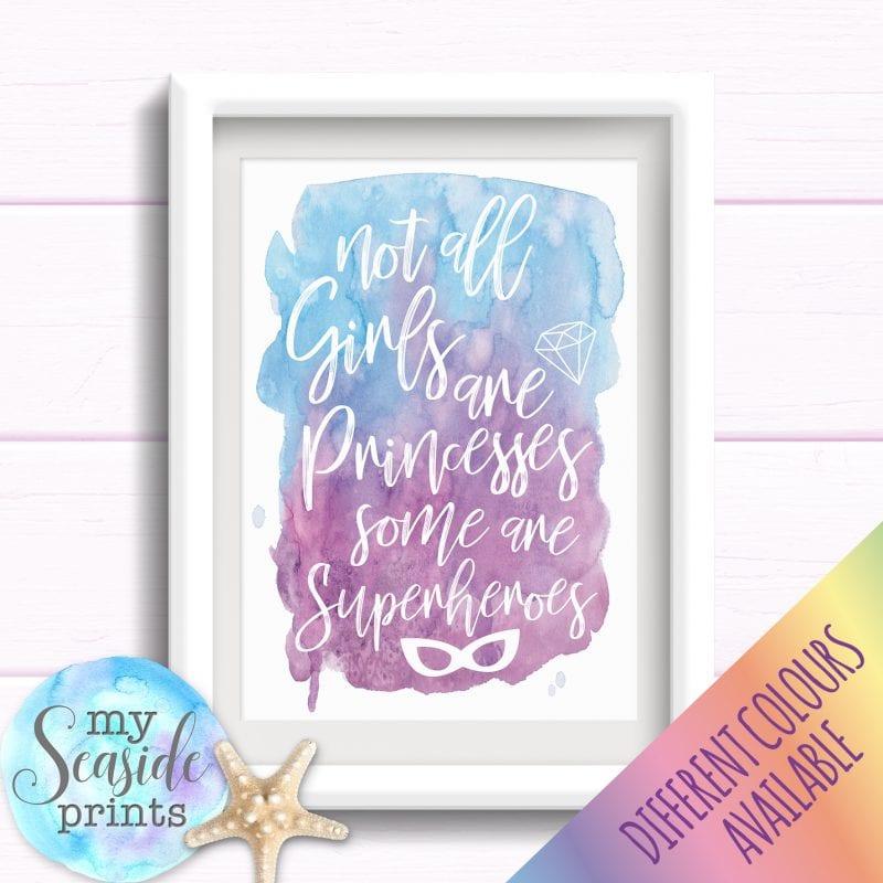Girls Bedroom Prints