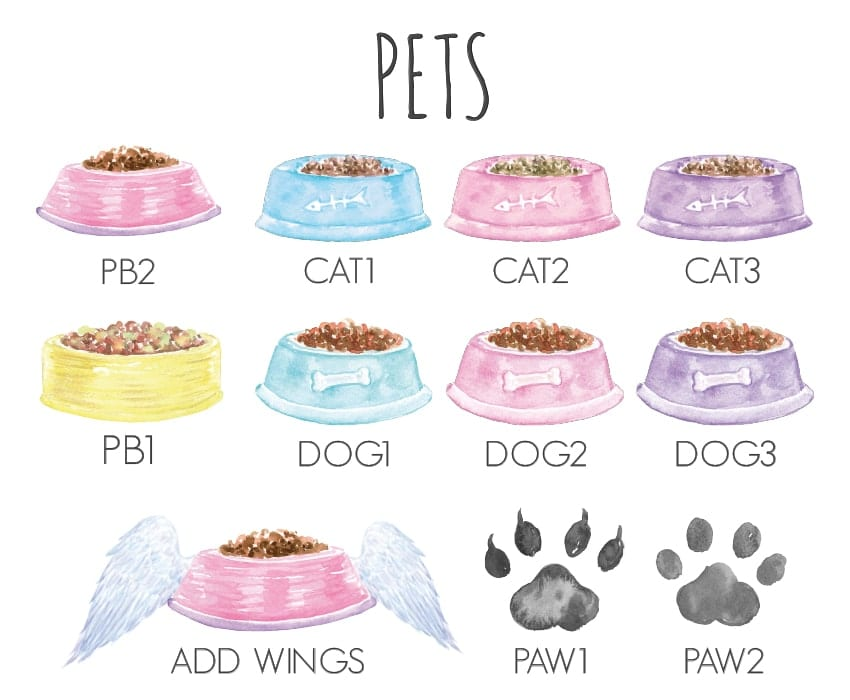 personalised pet prints