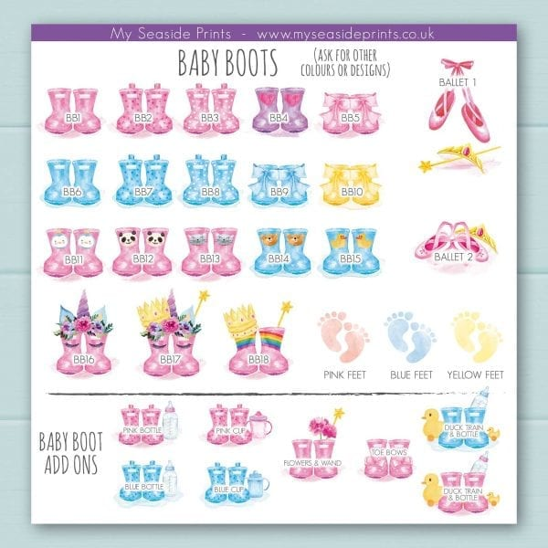 6d369a47d12c baby welly boots booties and ballet shoes options for welly boot family  prints