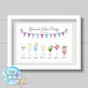 Hen Party Prints