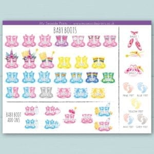 baby and toddler welly boot options for family welly boot print