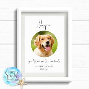 Personalised Dog Memorial Print
